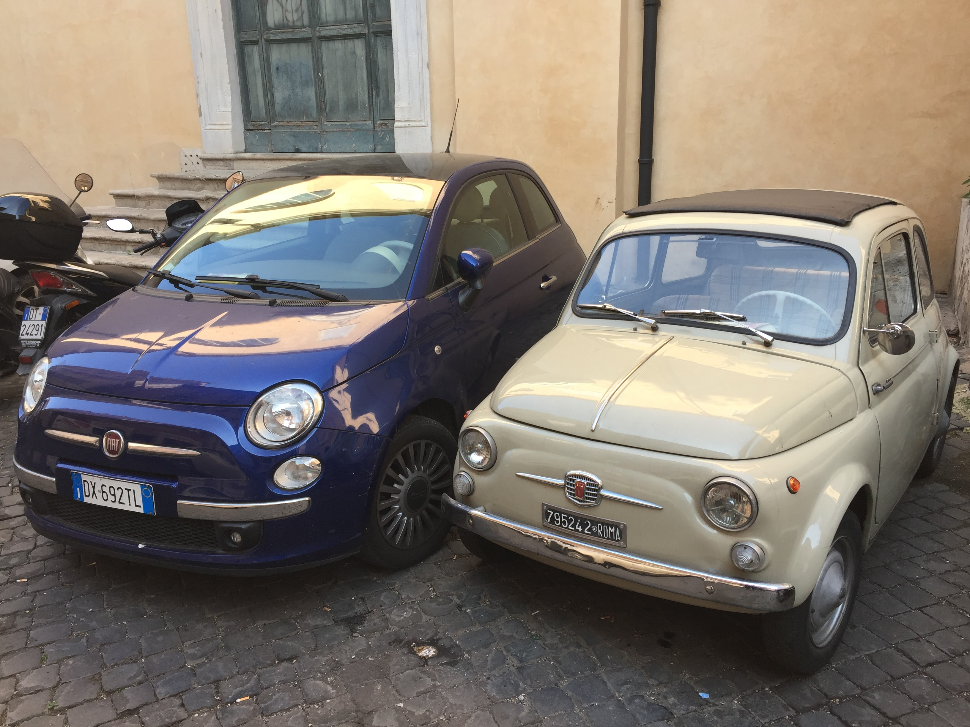 Fiat 500 original vs new