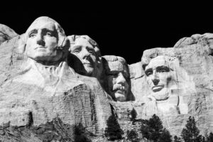 mount rushmore us presidents.